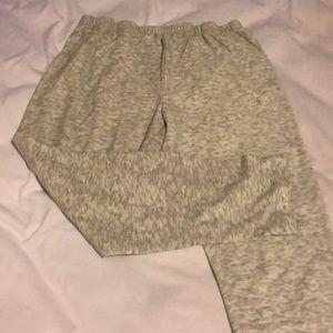 Pants - Grey Capri sweatpants